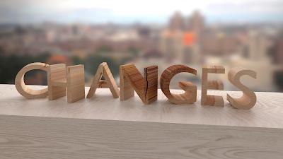 改變change