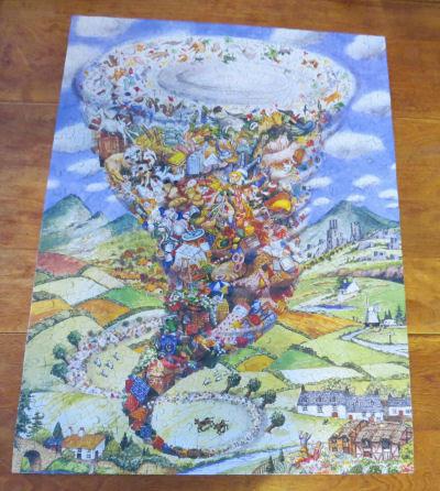 jigsaw puzzle Twister