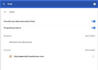 Ops Google Chrome bem no final da postagem