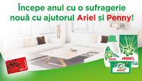 Castiga mobila noua in valoare individuala de 15000 ron - concurs - ariel - penny - 2019 - castiga.net