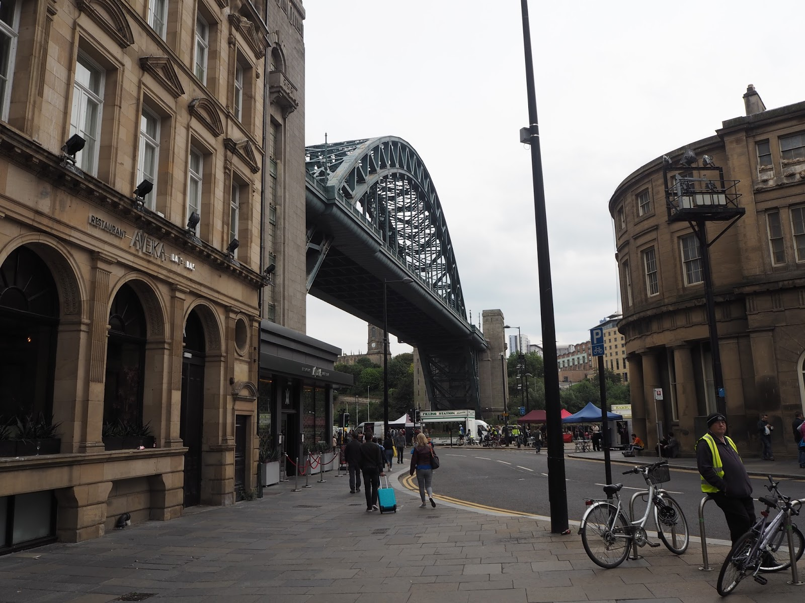 A weekend in Newcastle