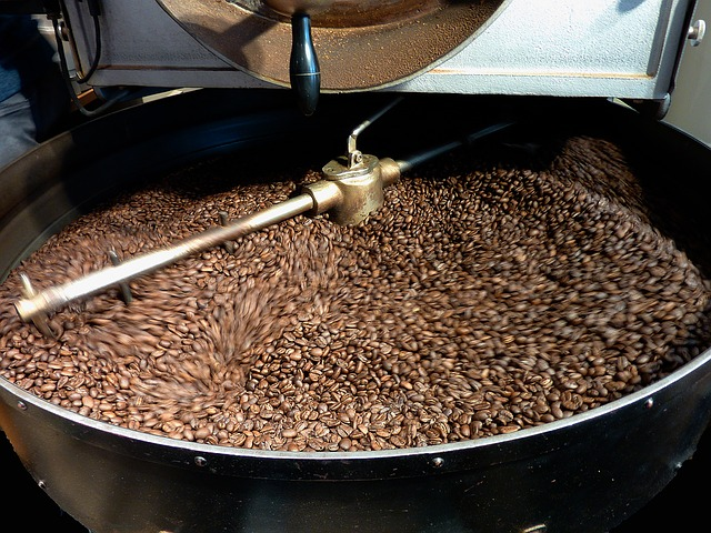 penyangraian kopi