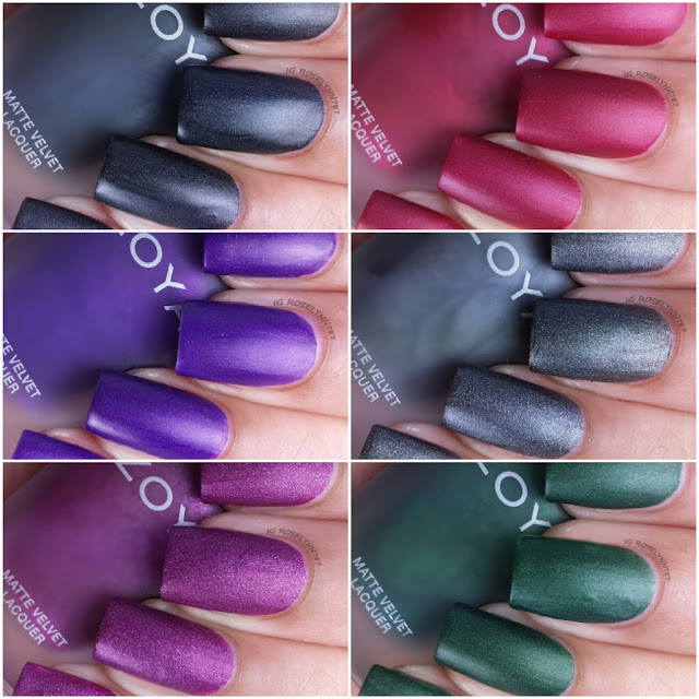 Zoya Matte Velvet Collection