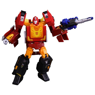 PP-08 Rodimus Prime dalla Takara Tomy per la serie Transformers Power of the Primes