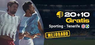 bwin promo Sporting vs Tenerife 22-11-2019