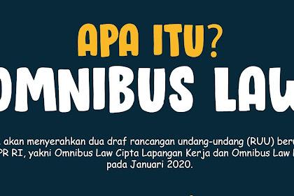 Penjelasan Lengkap Tentang Apa Itu Omnibus Law / UU Ciptaker, Kamu Wajib Tau