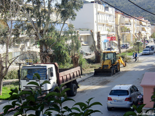 Ολοκληρώνεται το σύνολο των μελετών για την ανάπλαση της οδού Αιγίου στο Ναύπλιο