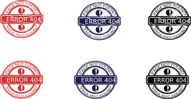 annoying website problems error 404