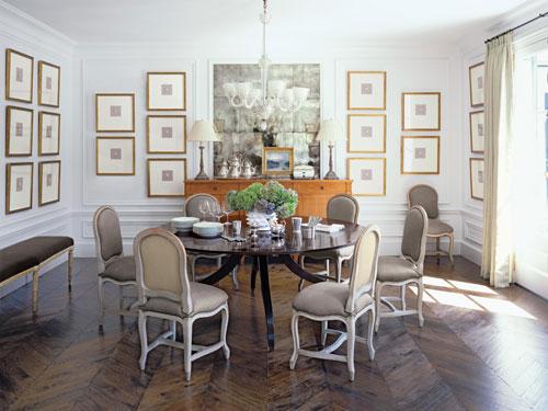 New Home Interior Design Paris Meets Pebble Beach