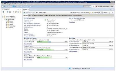 SAP HANA Administration