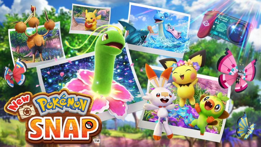 New Pokémon Snap Reveals New Features: Gyroscope Controls, Character Voices, and More