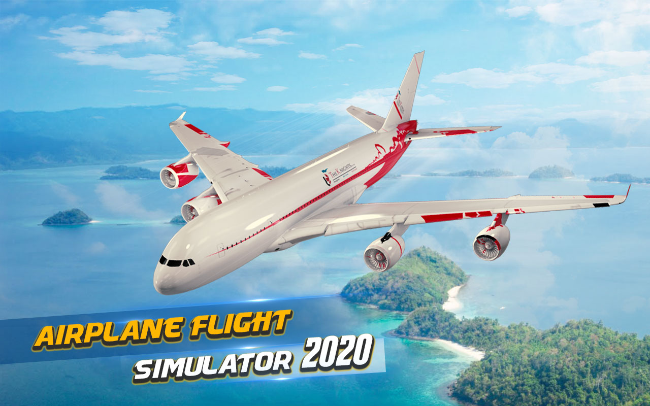 Game Pesawat Terbaik di Android City Flight Pilot Airplane