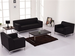 Leather Lounge Furniture Set