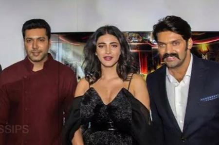 Thenandal films slams Sruthi hassan | Sangamithra
