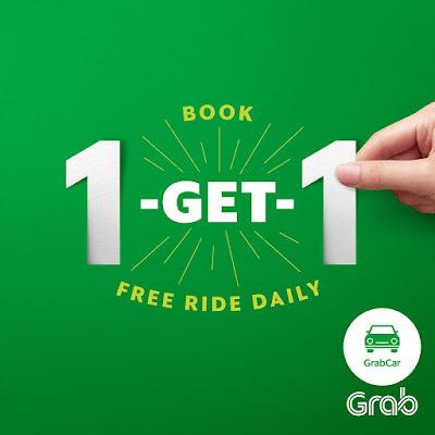 Grab Promo Code Book 1 Free 1