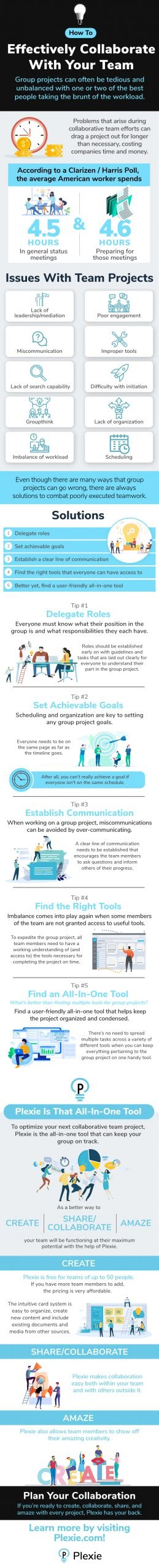 Effectively Collaborate With Your Team #infographic