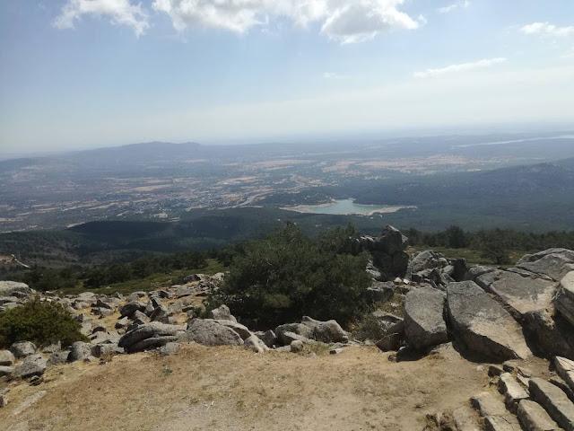 Vistas de la Sierra de Guadarrama