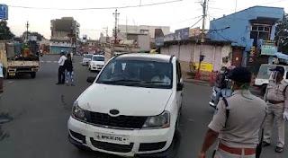 यातायात विभाग ने चलाया चेकिंग अभियान