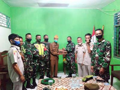 Ketua LVRI Wilayah Kota Sawahlunto Sampaikan Terimakasih Kepada Kababinminvetcaddam I/BB Atas Perhatiannya