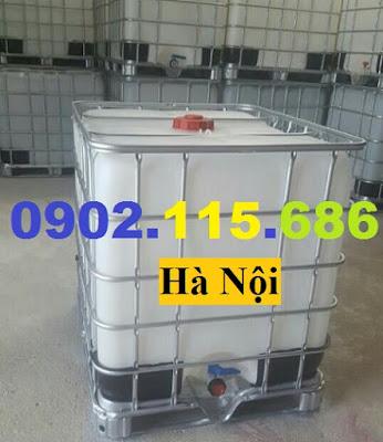 N3%2B%25281%2529 Tank nhựa IBC cũ, tank đựng hóa chất 1000l, tank đựng nước công trình 1000l, tank đựng xăn