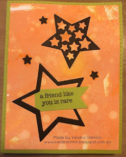 #CTMHVandra, #CTMHGotCandy, Colour dare, color dare, Distress Oxide, Animated,Butterflies, friendship, star, cardmaking, National Stamping Month, Challenge, smooshing, ink, watercolour brushes,