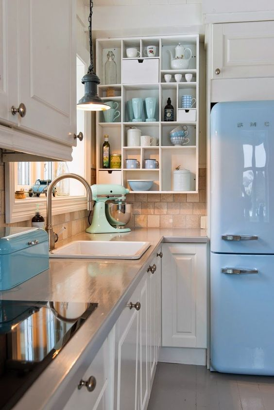 Colorful Kitchens To Copy Right Now