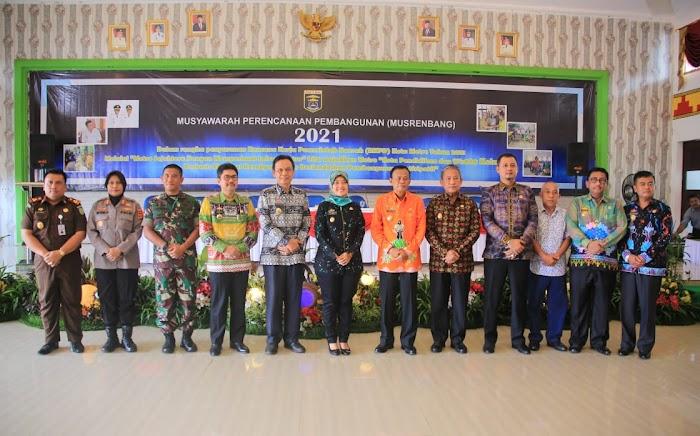 Hadiri Musrenbang Kota Metro, Wagub Nunik Ajak Bergandengan Tangan Membangun Kejayaan Kota Metro dan Provinsi Lampung