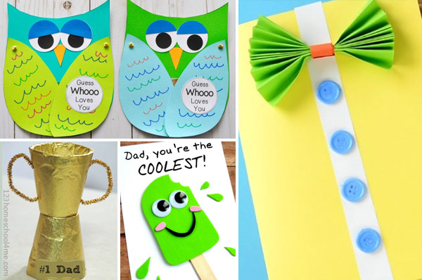 fathers day june crafts for kids
