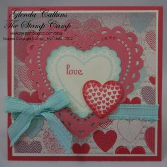 stamp with trude, valentine, Stampin' Up!