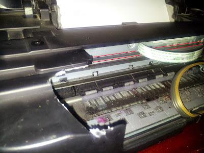 cinta codificadora en impresoras Canon