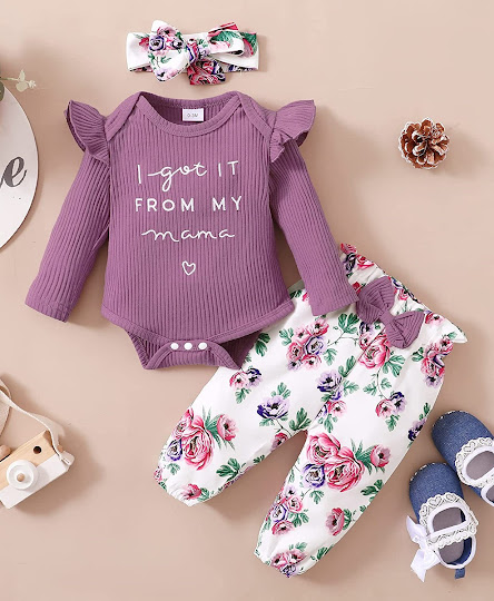 Funny Saying Baby Girl Clothes