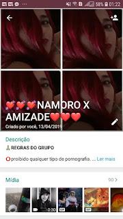 Namoro x Amizade - Links de Grupo Whatsapp Namoro