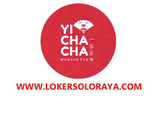 Loker Solo Raya Mei 2021 di Yi Cha Cha Indonesia