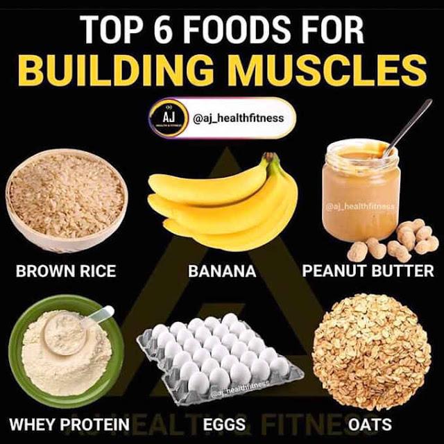 pangunahing pagkain para lumaki ang muscle