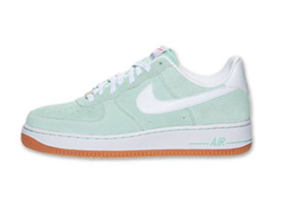 super popular 18595 0fc56 Nike Air Force 1 Low Arctic Green Gum Bottom Sneaker Available Now