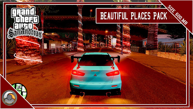 GTA San Andreas Beautiful Places Pack