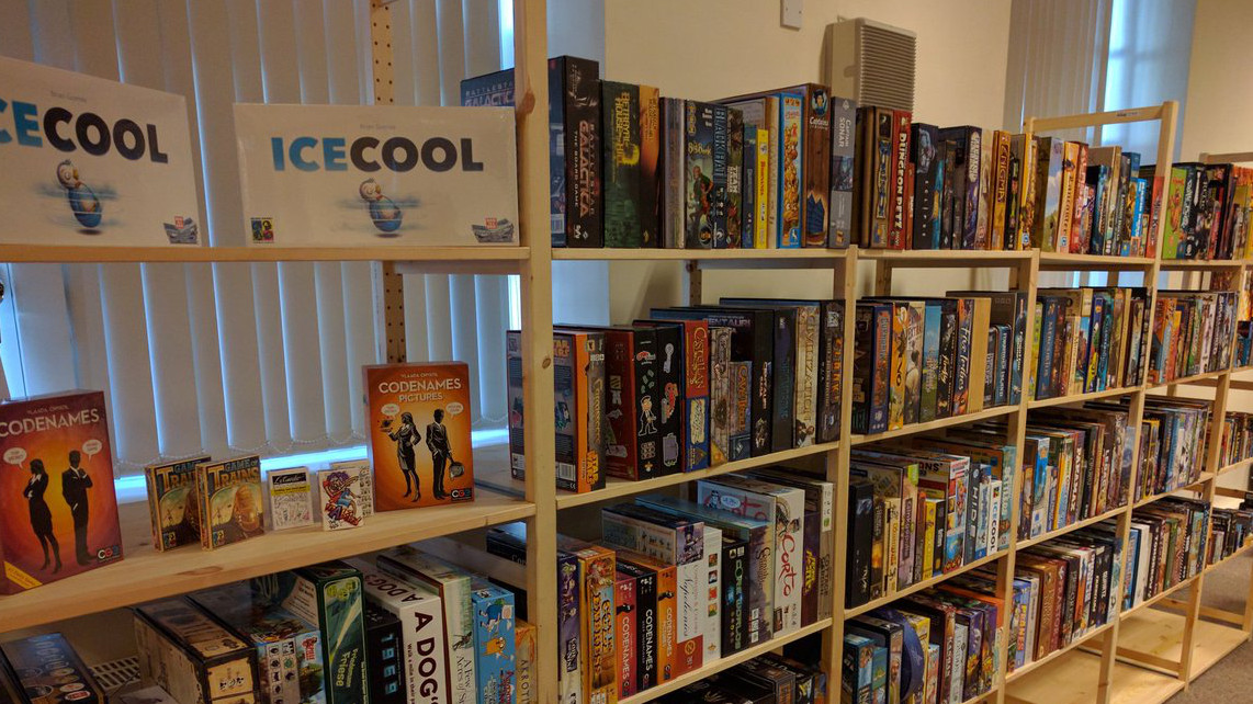 airecon board game library