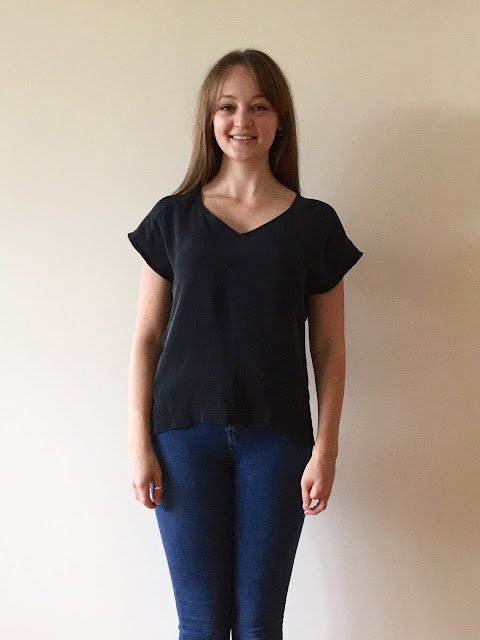 Diary of a Chain Stitcher: Silk True Bias Sutton Blouse