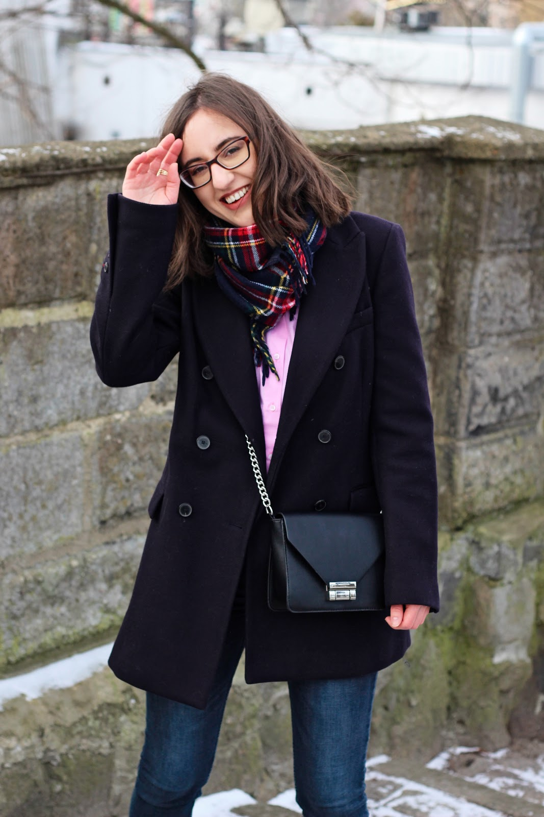 różowa koszula Zara blog
