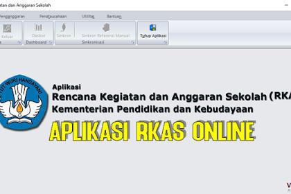 Panduan Lengkap Aplikasi RKAS Online 2019