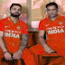 Indian Cricket team new Orange Color jersey for ICC World Cup 2019