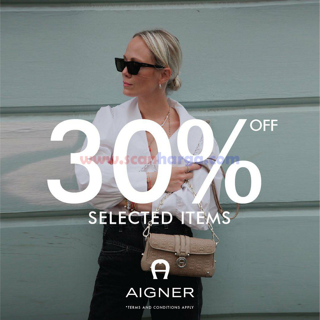 AIGNER New Arrival and enjoy 30% Off on selected items