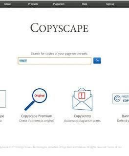 Cara Cek Plagiat Artikel Terbaru Menggunakan Situs Copyscape