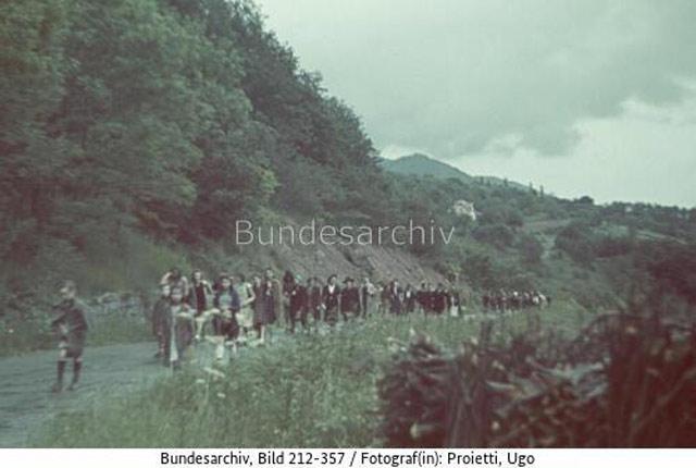 Fascist hikers in France, 31 May 1942 worldwartwo.filminspector.com