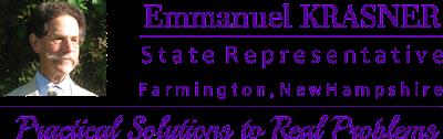 Video & Info - Manny Krasner For NH State Rep #FarmingtonNH