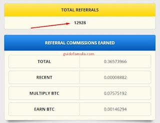 Cara meningkatkan jumlah referral yang ada di freebitcoin