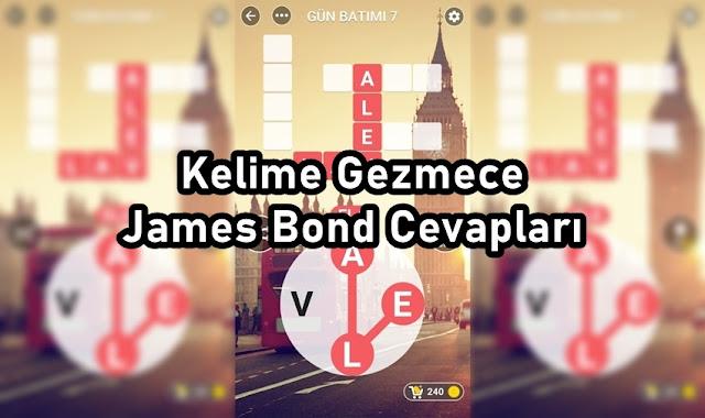Kelime Gezmece James Bond Cevaplar