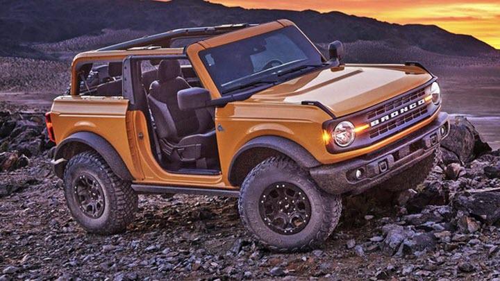 Lịch giao xe Ford Bronco dài kỷ lục tới 2 năm
