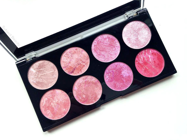 Makeup Revolution London Blush Queen Blush Palette