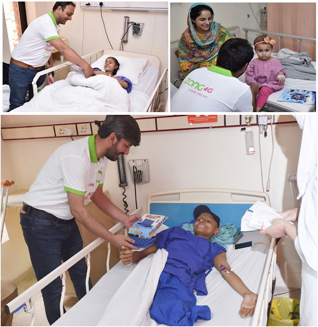 "Zong 4G's ""A New Hope"" Volunteers Spread Happiness at Shaukat Khanum Hospital"